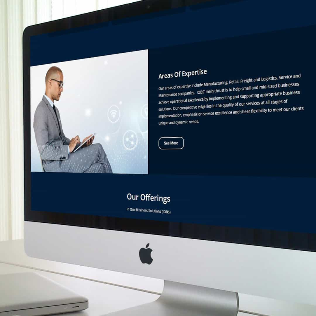 iobs website design